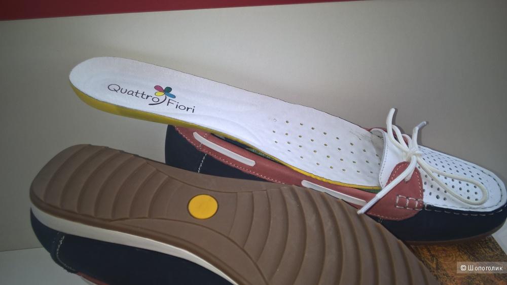 Мокасины Quattro Fiori ( 38/39 размер)