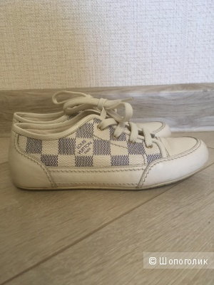 Ботинки кожаные «Louis Vuitton» р-р. 31,5