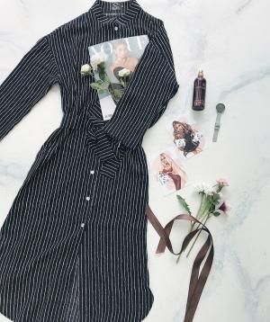 Платье-рубашка clan6, free size