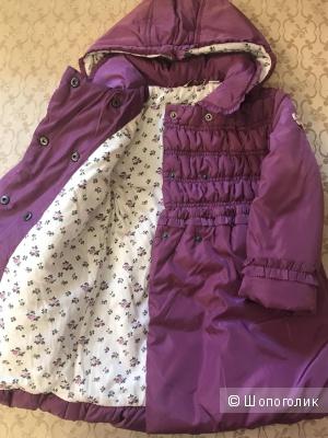 Демисезонное пальто Chicco для девочки, размер 92/2 года