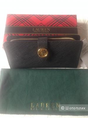 Кожаный кошелек Ralph Lauren.