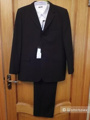 Комплект костюм и рубашка, БТК, на рост 158 см