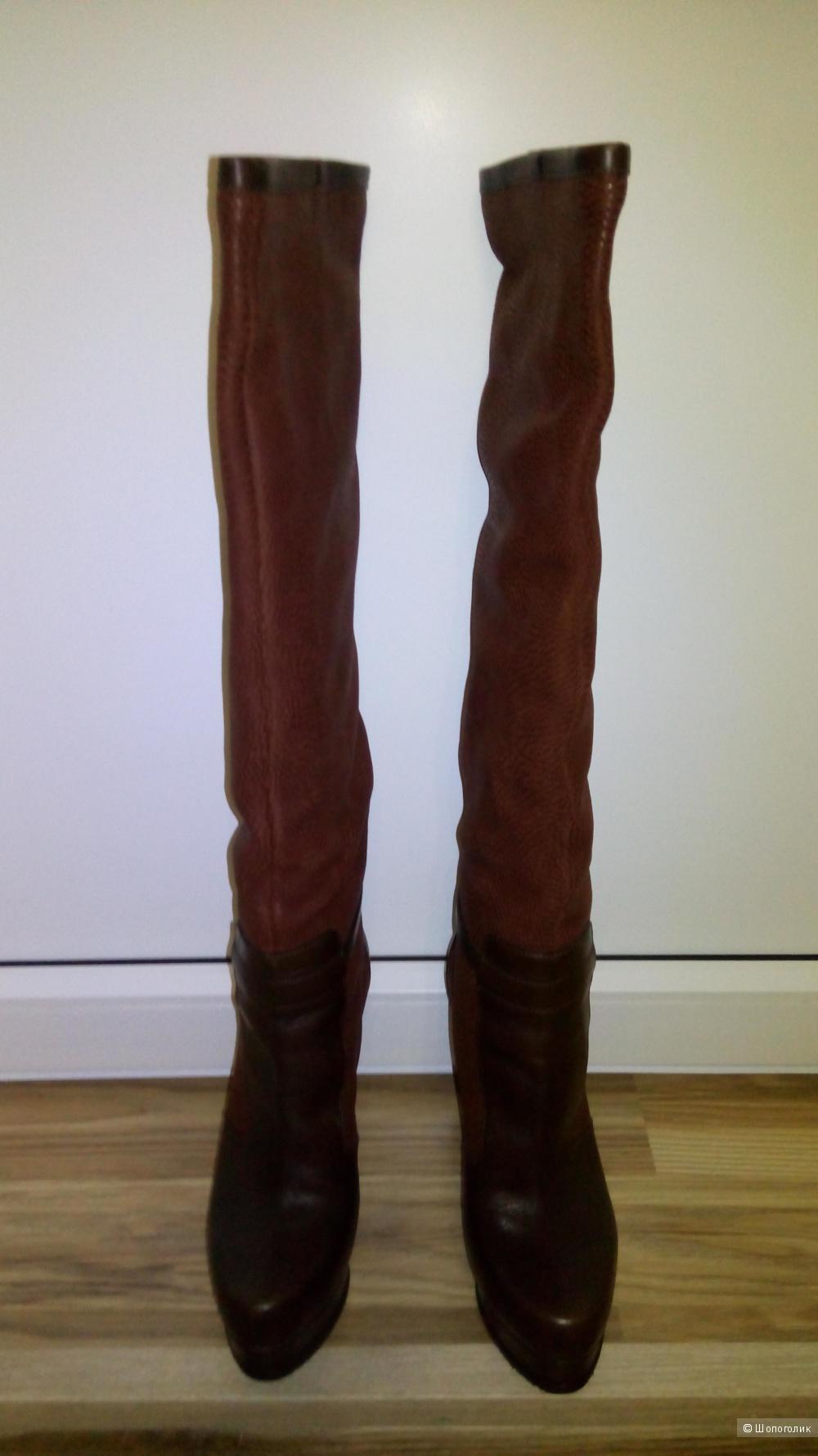 Сапоги демисезонные Gianmarco Lorenzi 39 размер