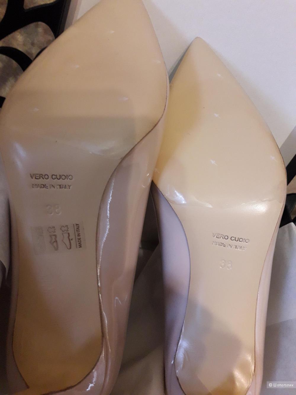 Туфли лаковые,фирма 8 р.38