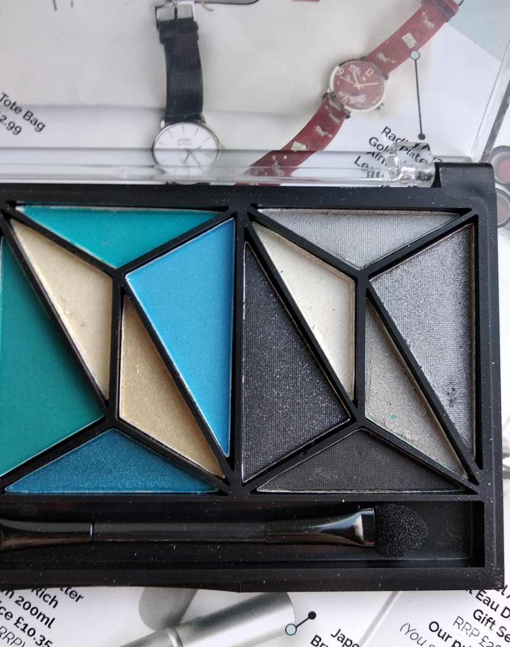 Палетка теней, ELF Cosmetics, (18 оттенков)