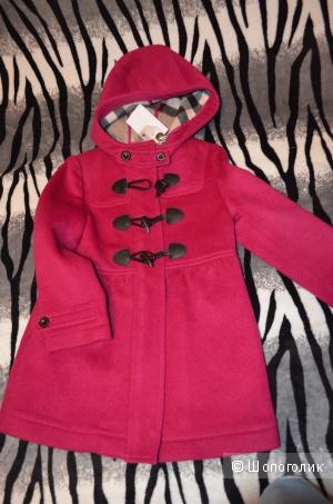 Пальто Burberry, размер 6 лет