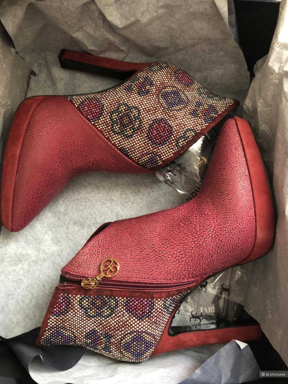 Ботинки Fabi, 36 размер