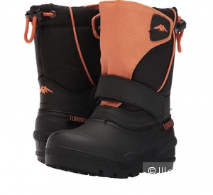 Сноубутсы Tundra Boots  7 toddler (23 размер)