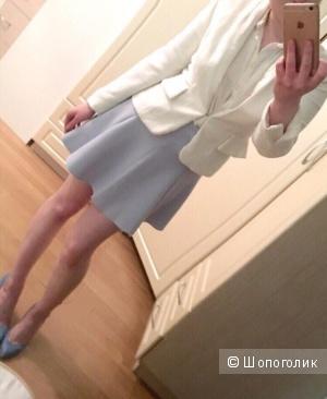 Комплект: Пиджак Kira Plastinina, юбка и блузка Bershka , размер S-M