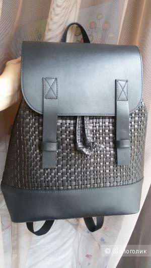 """Кожаный рюкзак """"8"""""""