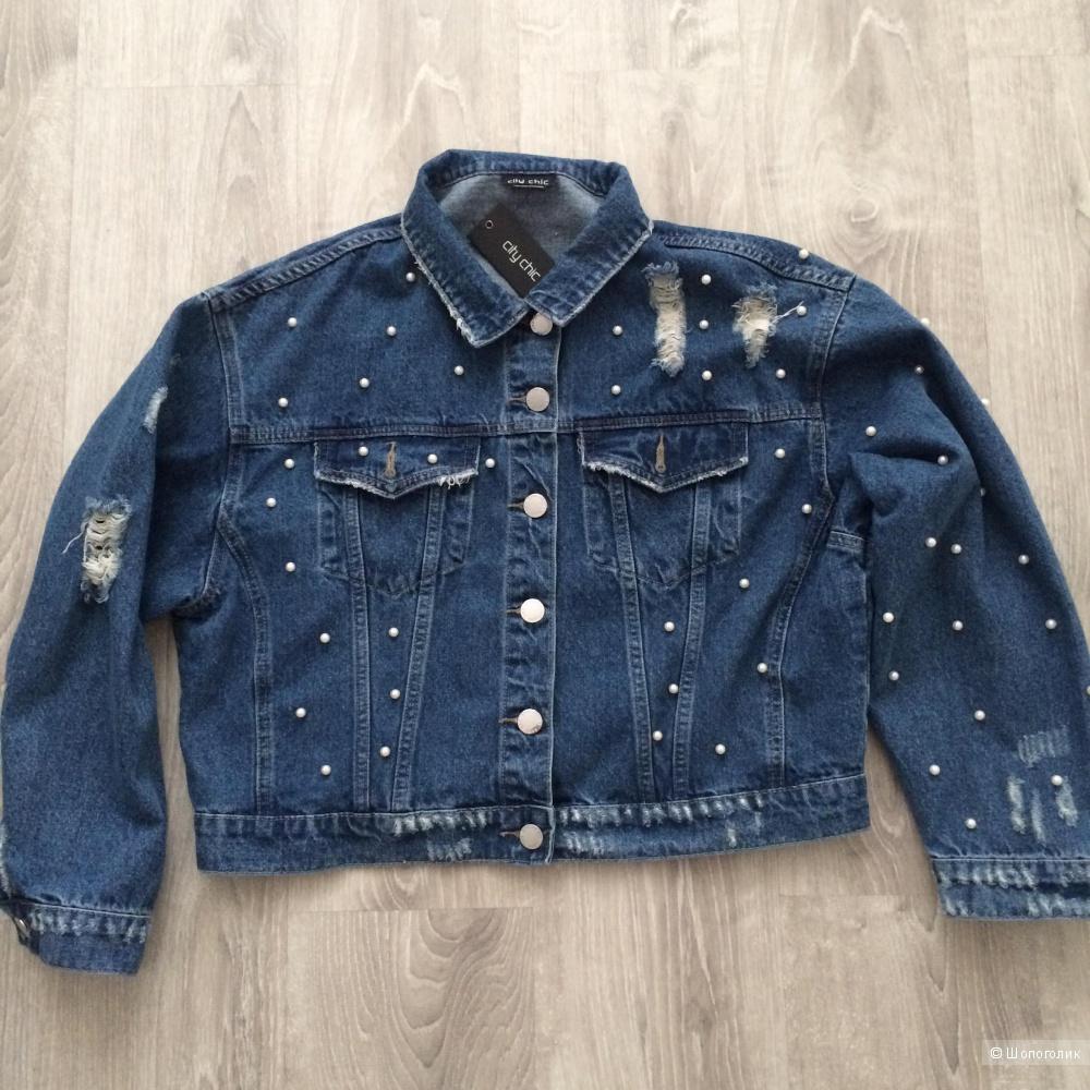 Джинсовая куртка CityChic размер 18