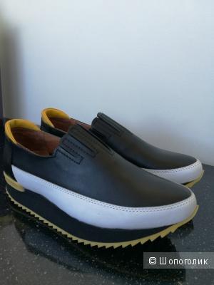 Туфли-слипперы, LOUIS NORMAN, размер 39.