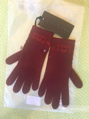 Перчатки John Richmond,размер S