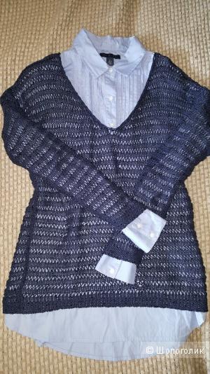 Рубашка Tommy Hilfiger p.M . Джемпер Comma 44-46