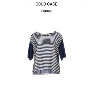 Свитер GOLD CASE  р.44.  Италия
