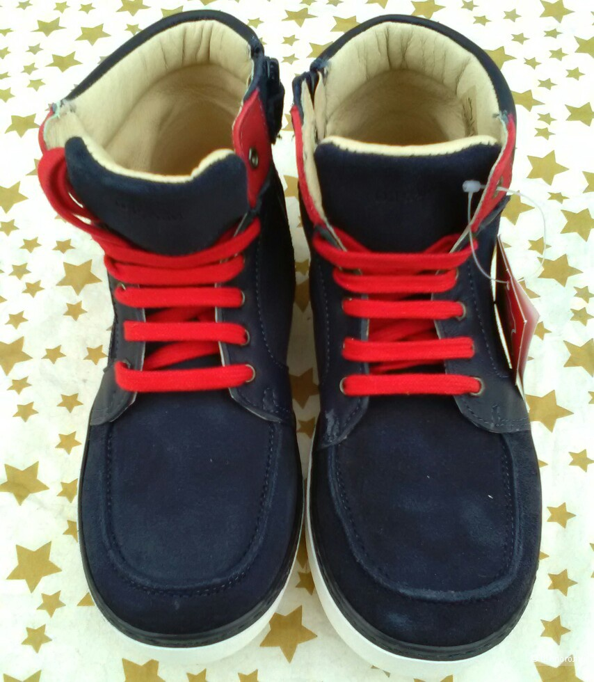 Ботинки для мальчика DRAM. 34 размер