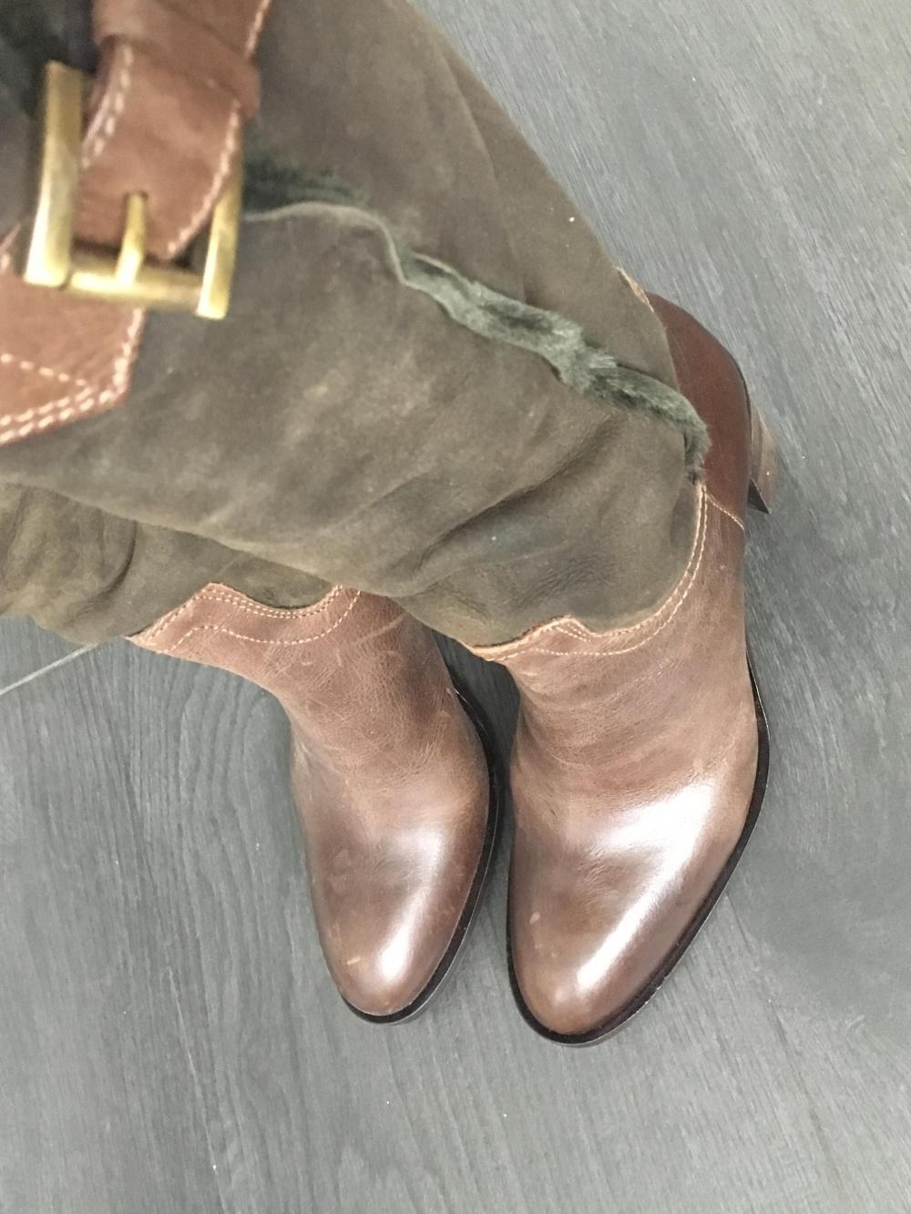Ботфорты-чулки Alberto Gozzi, 38 размер