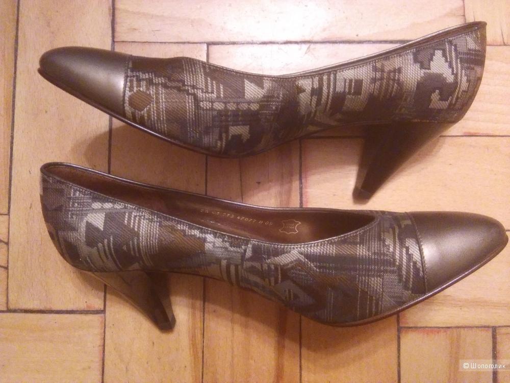 Туфли gabor, натуральная кожа,по маркировке 5,5