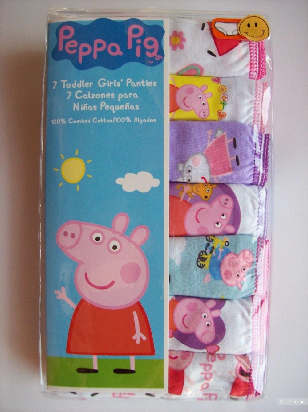 Н-р трусиков (6 шт) Peppa Pig, 6-7 лет