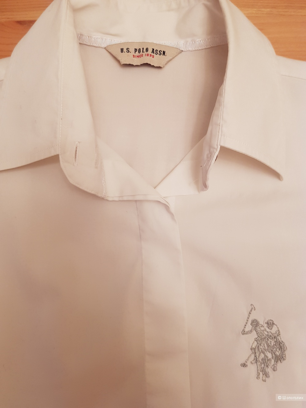 Блузка-рубашка  U.S. POLO ASSN., размер 42-44