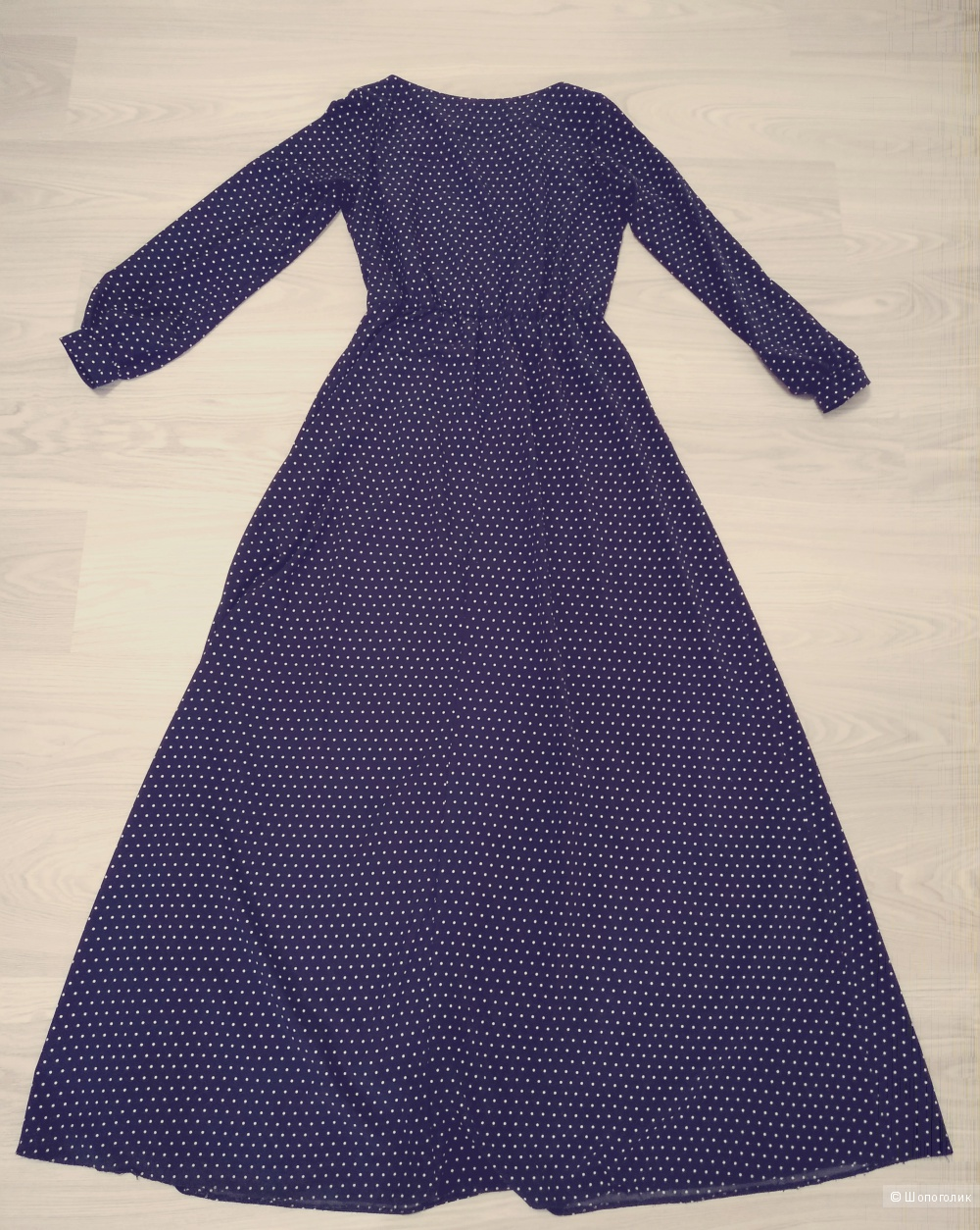 Длинное темно-синее платье  Colambetta,  размер 48