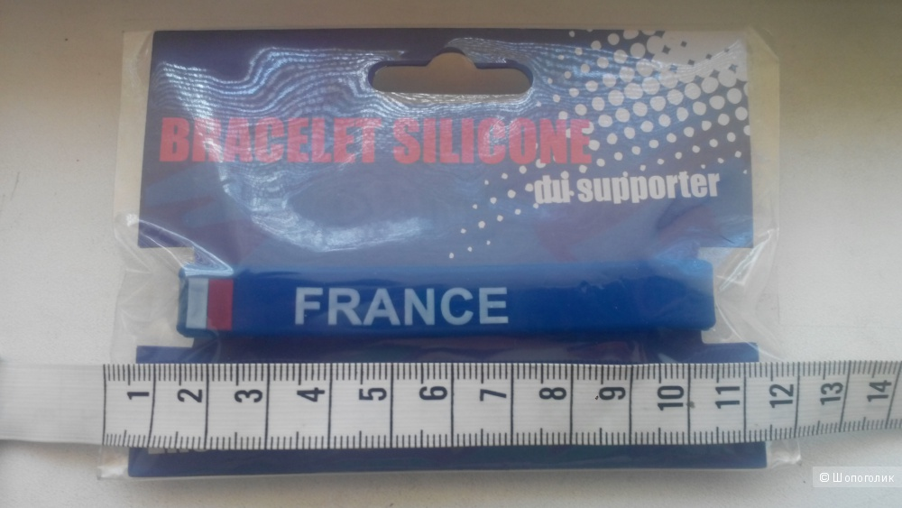 Силиконовый браслет, FRANCE