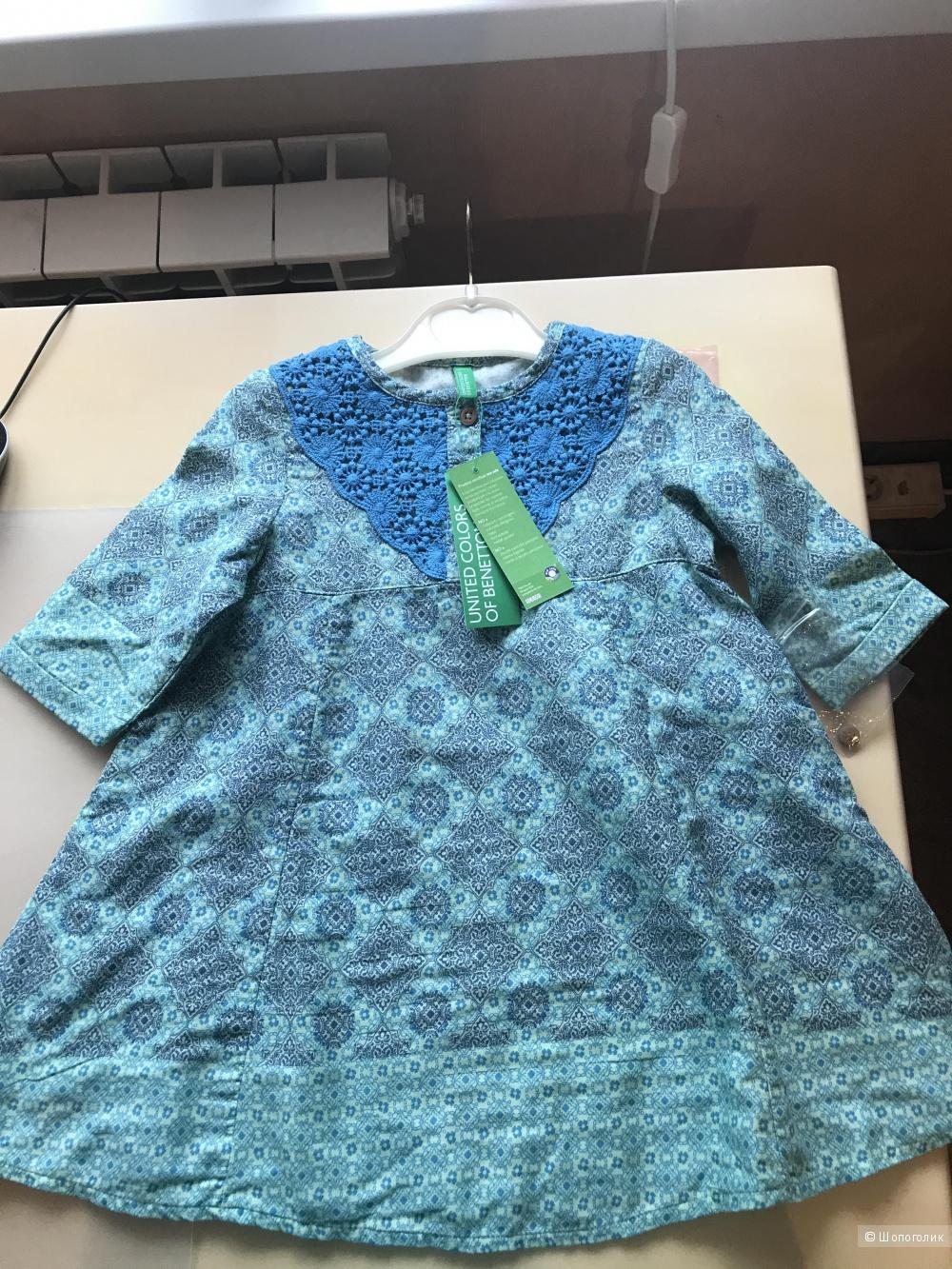 Платье Benetton, 2 года.