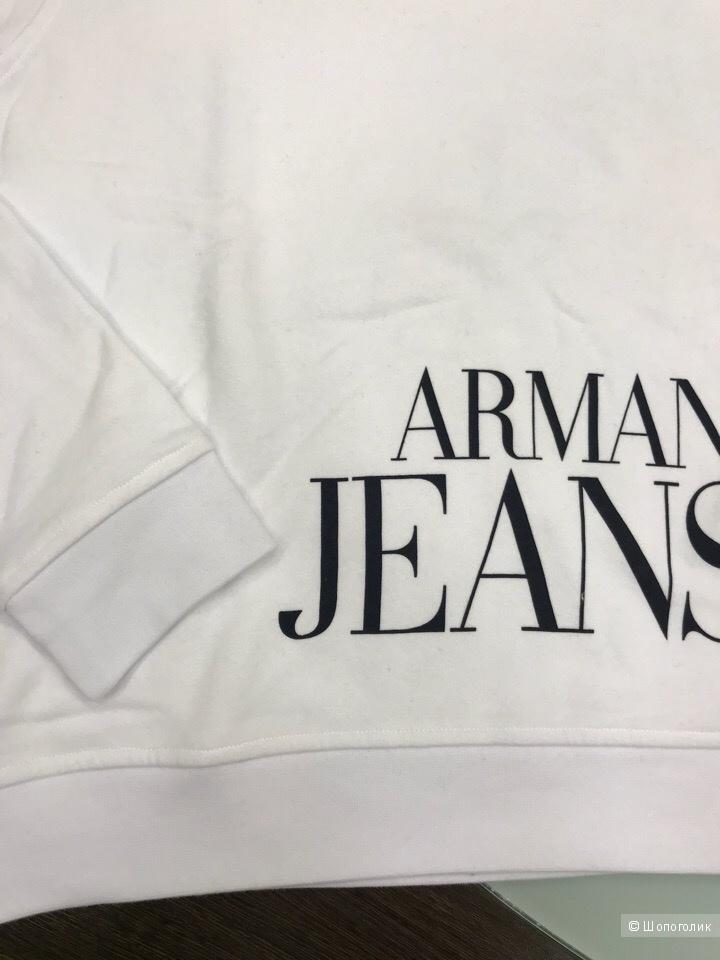 Женский свитшот Armani Jeans, размер 48