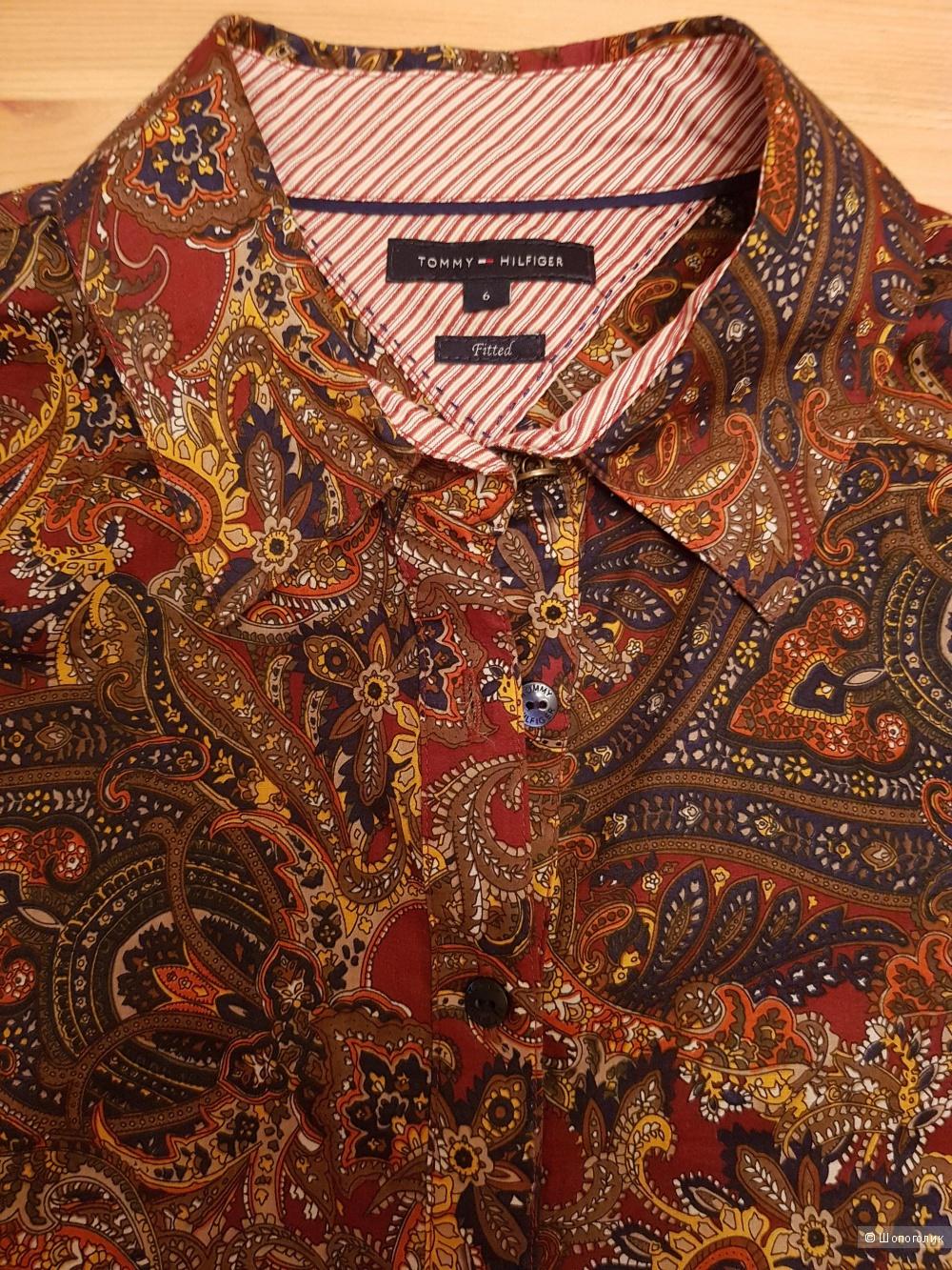 Блузка-рубашка  TOMMY HILFIGER, размер 42-44