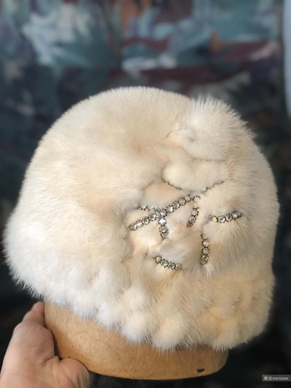 Норковая шапка, one size