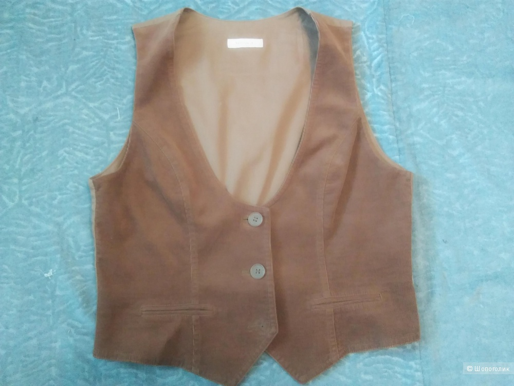 Костюм- двойка: пиджак и жилетка. Yessica, размер 42 евр.