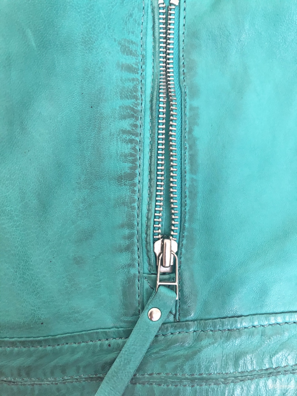 Кожаная куртка Bruno Banani, размер М-L.