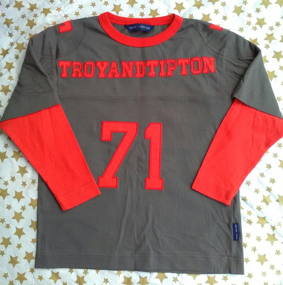Джинсы Complices и лонг Troy Tipton на 7-8 лет