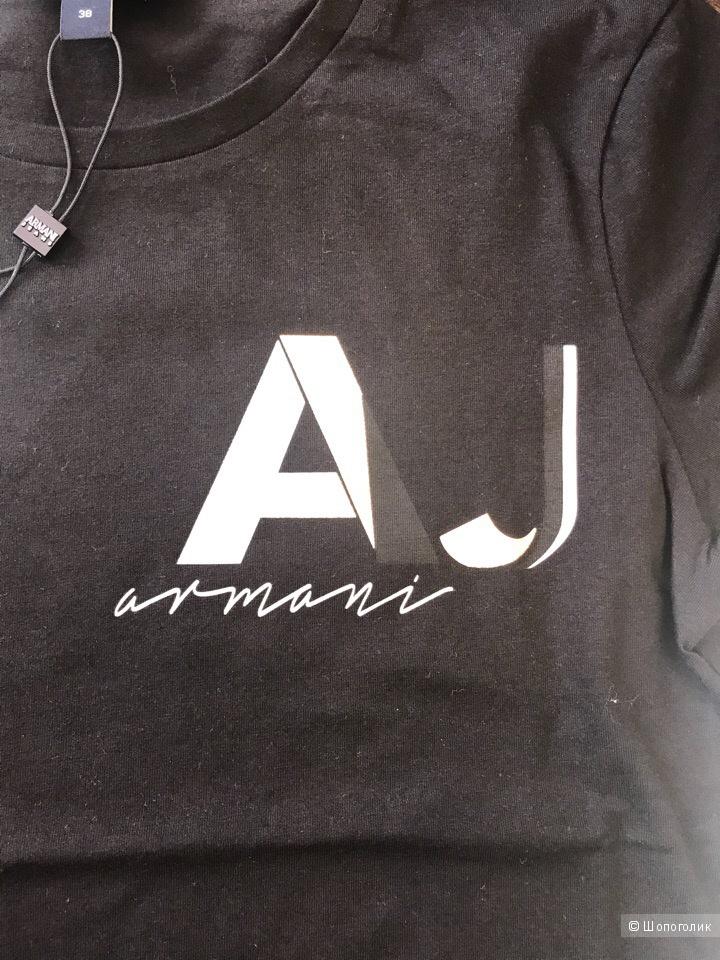 Женская футболка Armani Jeans, размеры 38, 40, 44