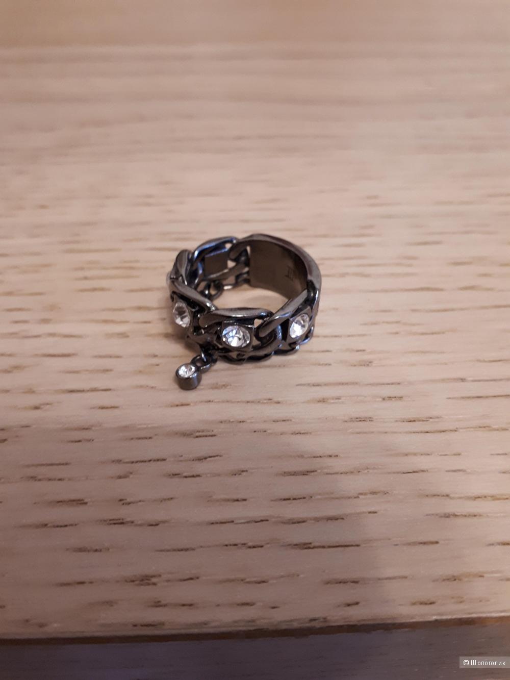 Кольцо Dyrberg/Kern, размер 3