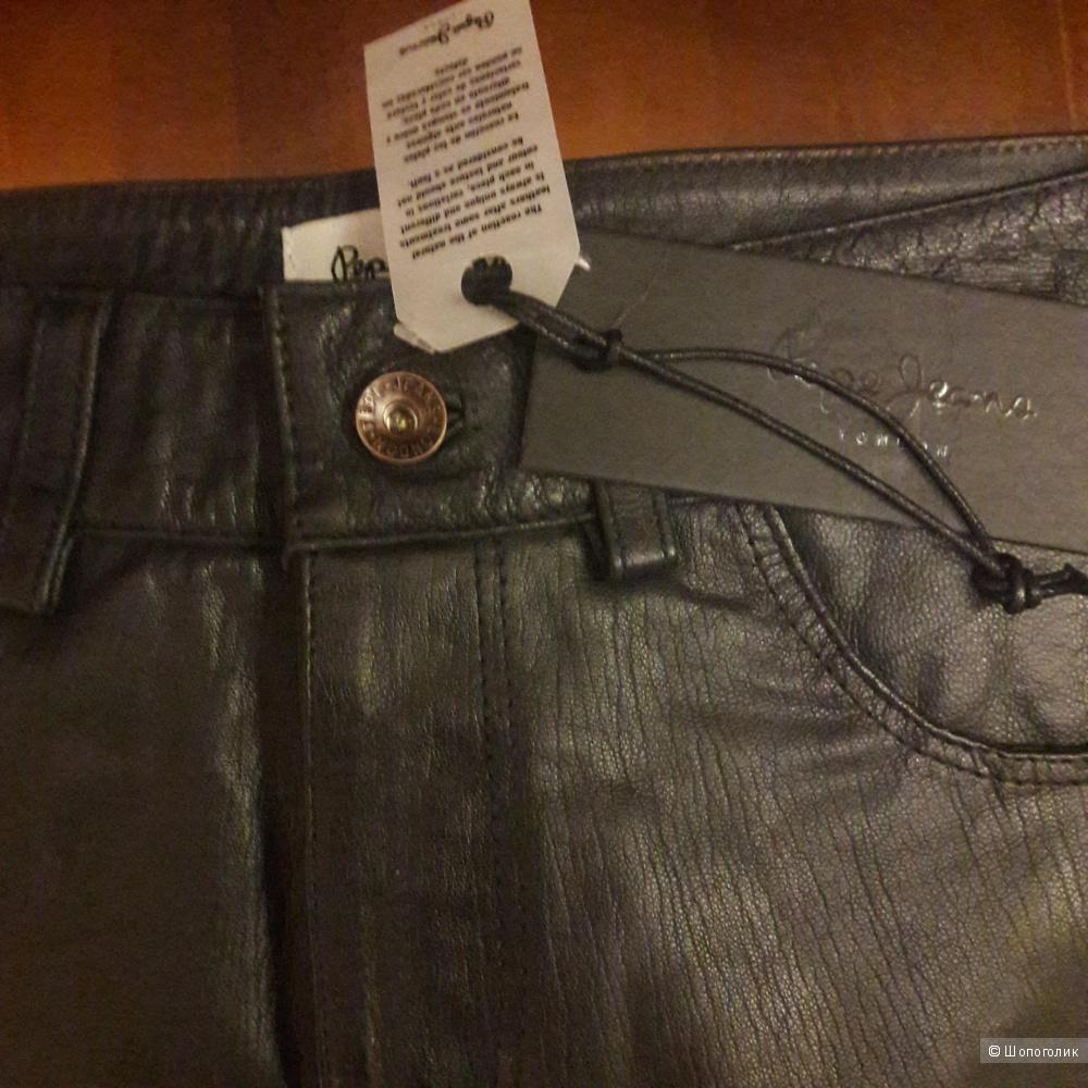 Кожаная юбка Pepe Jeans размер 44-46