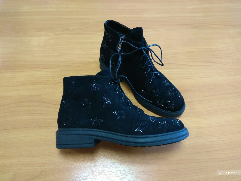 Ботинки Just Couture, размер 37 (по стельке 24,5 см)