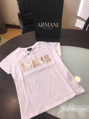 Женская футболка Armani Jeans, размер 36, 40