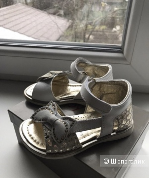 Туфли для девочки Vera Pelle, 22 размер.