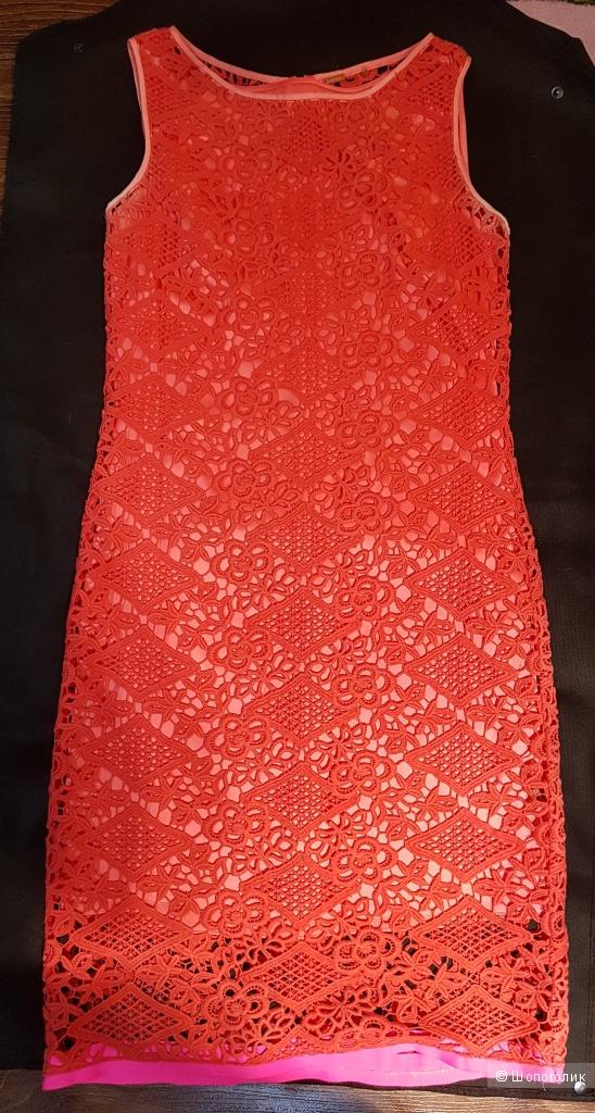 Платье из кружева ELIE TAHARI. р.44