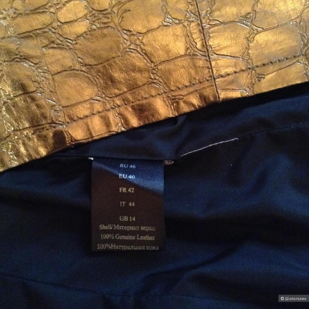 Кожаный плащ ACASTA , 46 размер