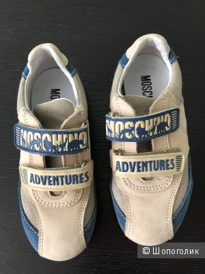 Кроссовки Moschino, размер 28