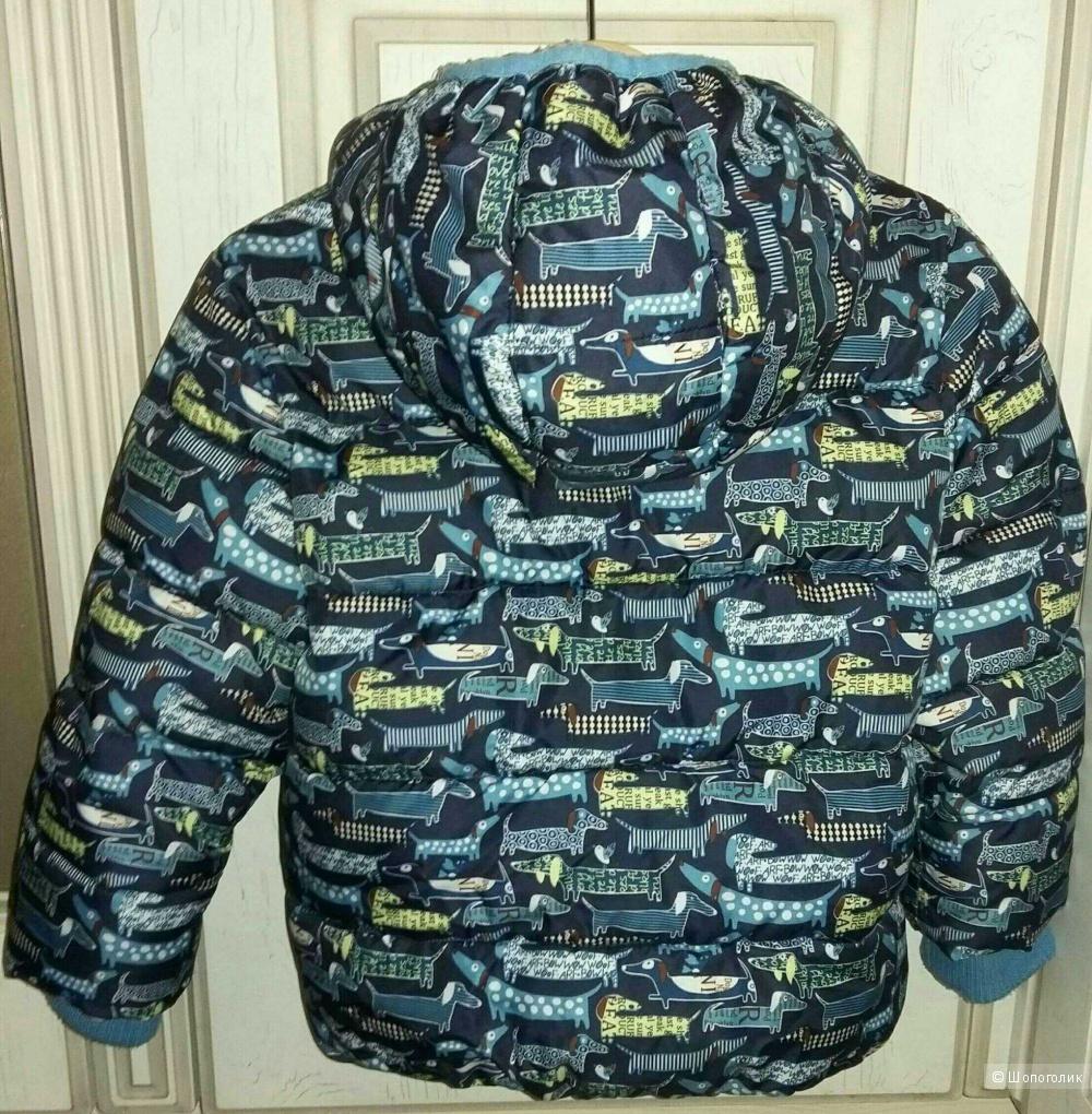 Куртка Зимняя Baby go 92 размер.