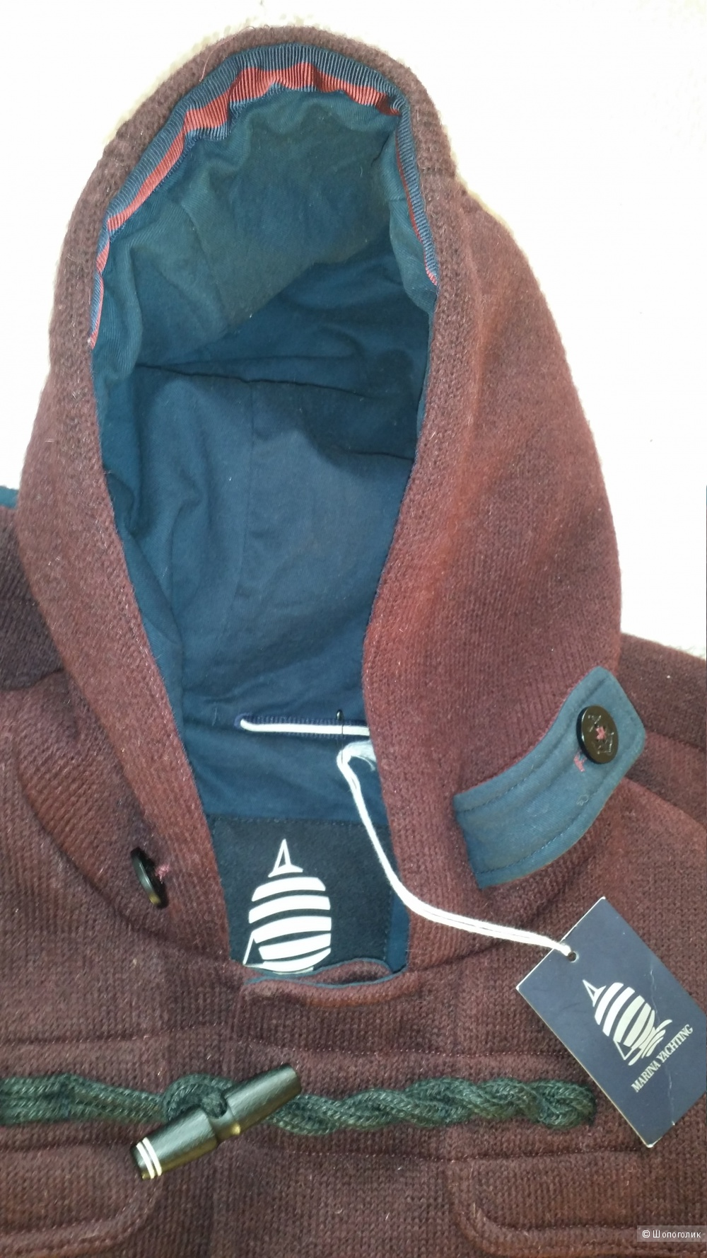 Куртка-пальто-дафлкот  Marina Yachting, 50-52