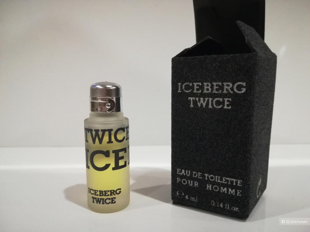 Миниатюра 4 мл - Twice Pour Homme Iceberg EDT