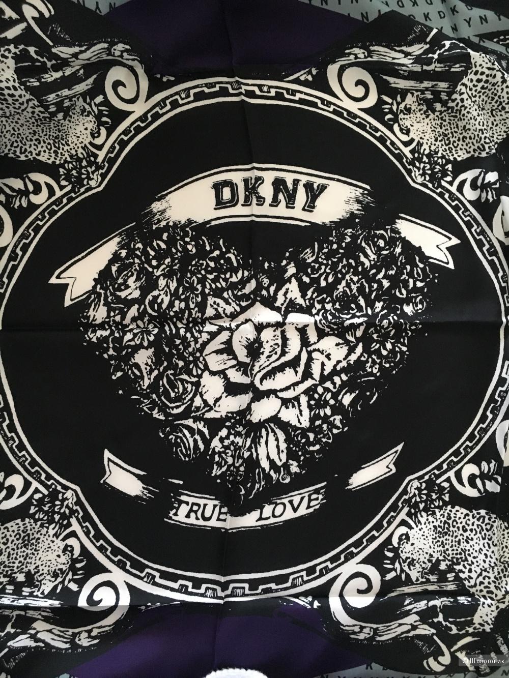 Платок DKNY, 100х100