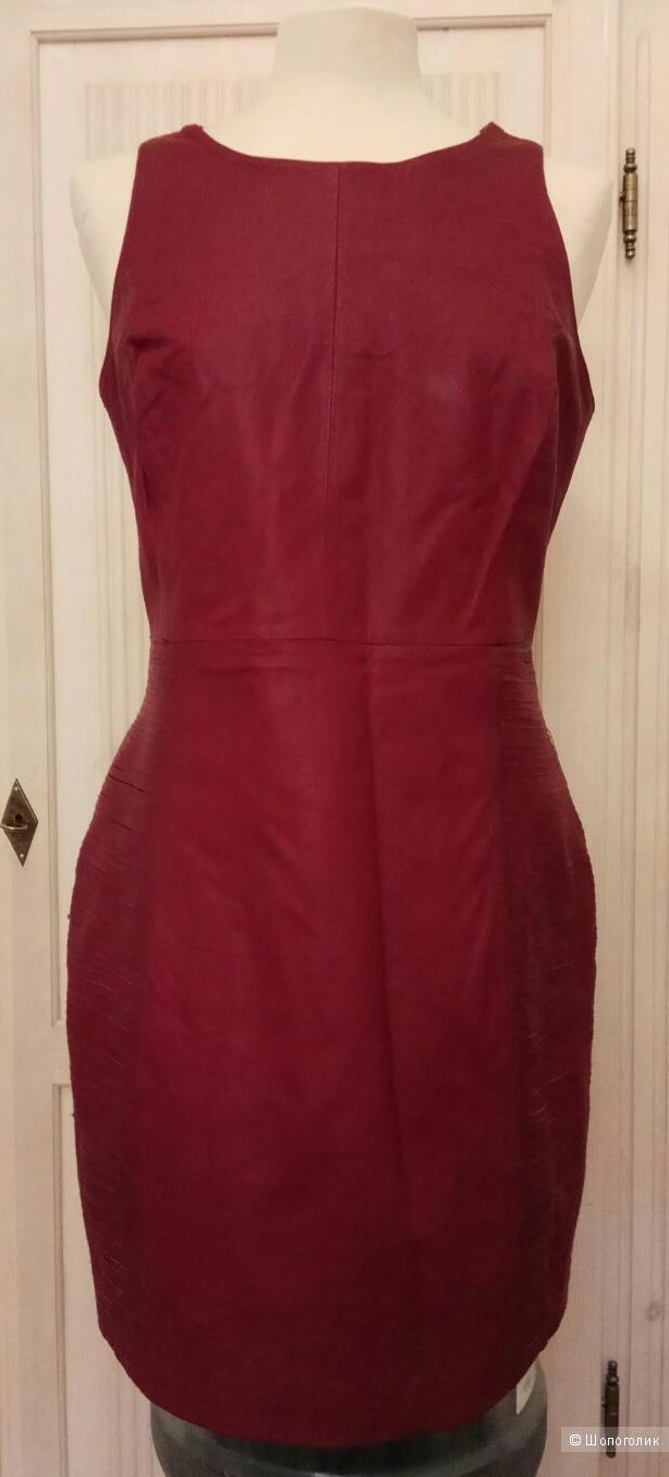 Платье  кожаное,Asos,M
