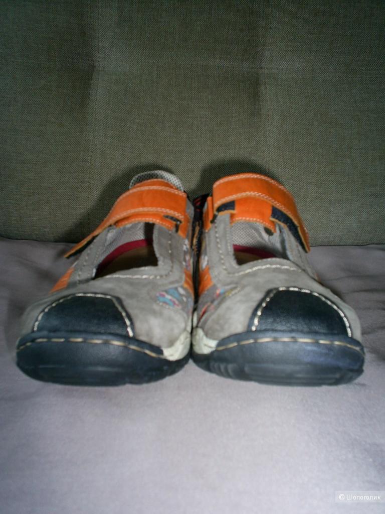 Туфли Rieker р 42 на стопу 26,5-27 см.