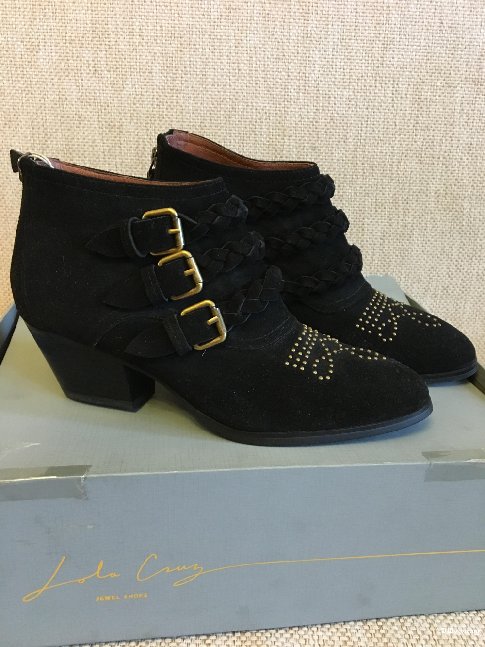 Ботинки Lola Cruz, 38 размер