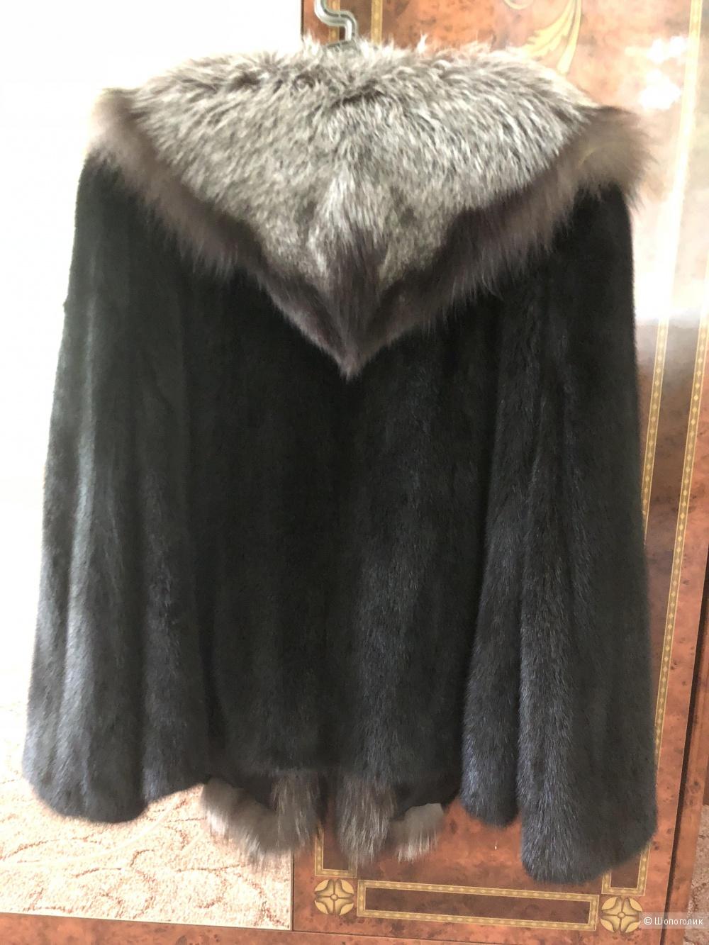 Норковая шуба, Angel wishesl furs, 48-50 р
